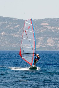 Windsurfing at Eftalou