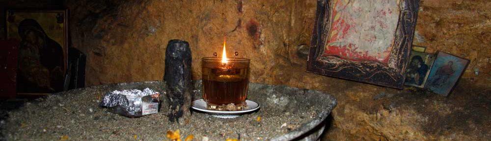 Catacombs beneath Agia Magdalini