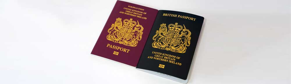 Picture of UK Passports